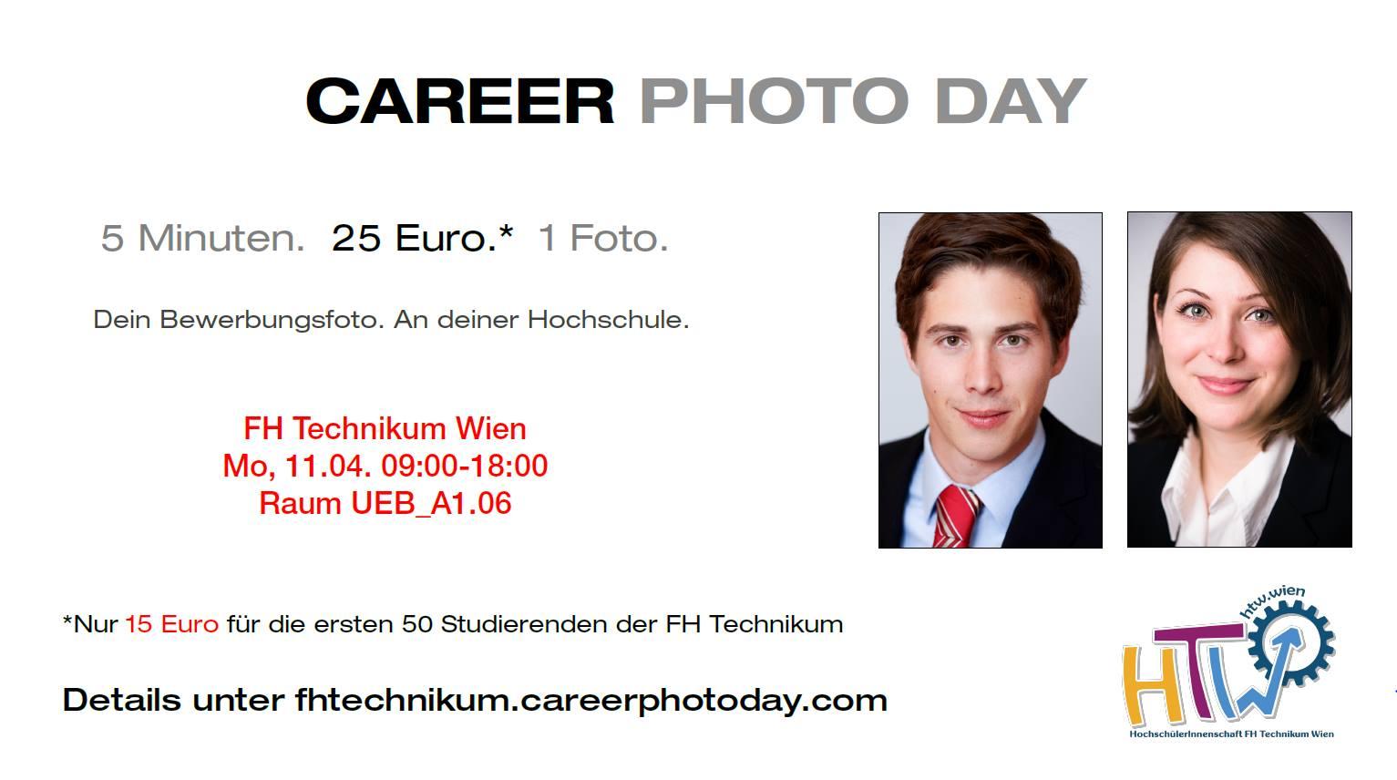 Bild Career Photo Day mit Infos wann und wo