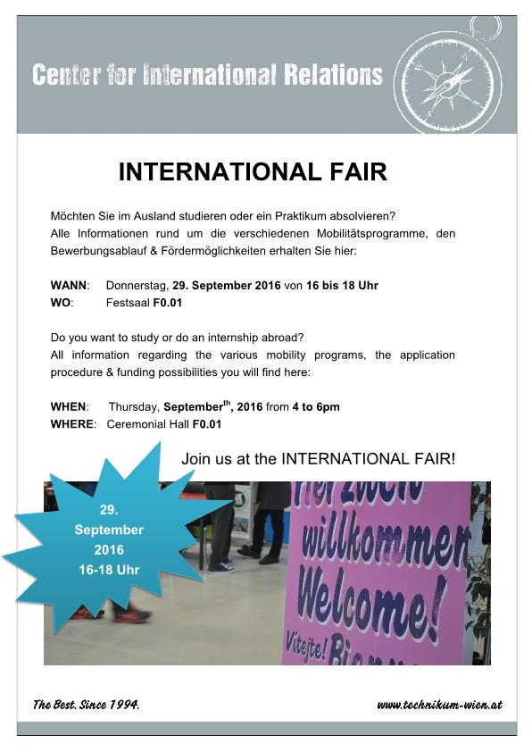 international fair september 2016