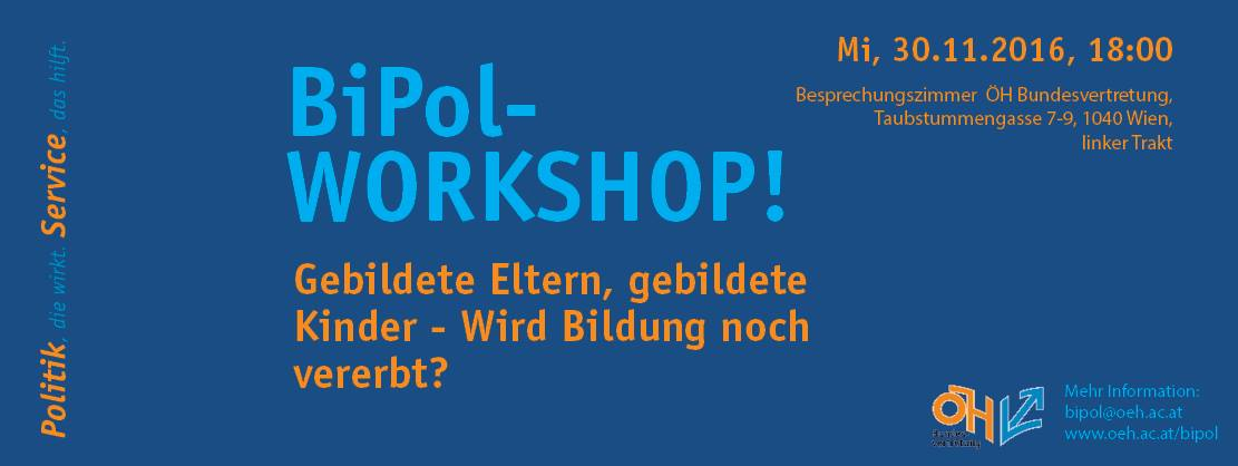 Bipol Workshop 6 Flyer