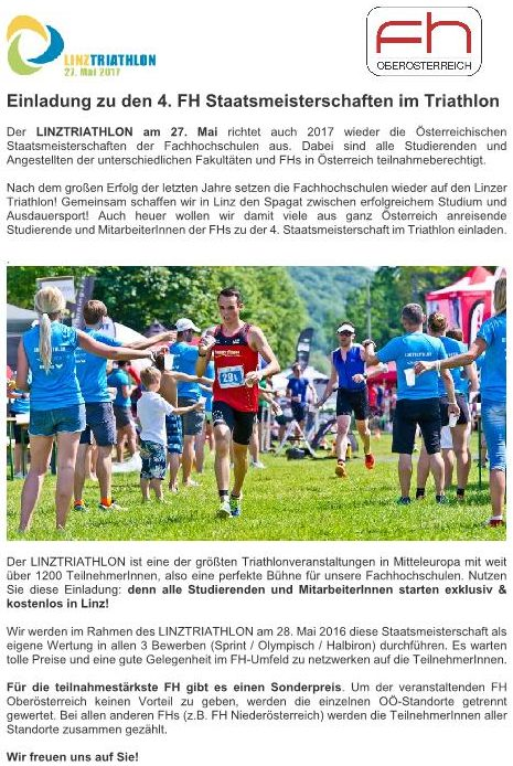Einladung_FH-Meisterschaften-Linz Triathlon-2017