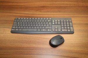 Tastatur und Maus